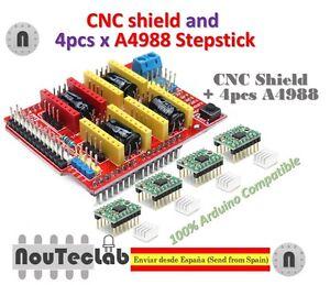 Placa-de-Expansion-CNC-Shield-V3-4-un-A4988-Controlador-de-motor-paso-a-paso-para-la-impresora-3D
