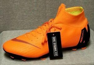 448d62273 NIKE Superfly 6 Pro FG Flyknit ACC Mens Total Orange Soccer Cleats ...