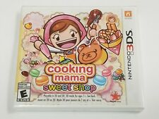 Cooking Mama: Sweet Shop (Nintendo 3DS, 2017)