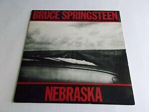Bruce-Springsteen-Nebraska-LP-1982-Columbia-Vinyl-Record