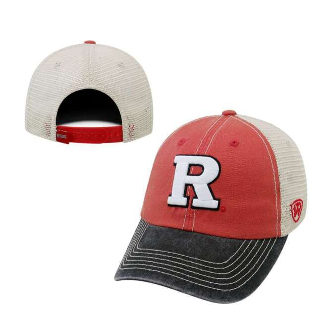 d3fb2282512 Rutgers Scarlet Knights NCAA Adjustable Youth Offroad Hat Cap Top of ...