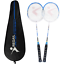Philonext-2-Pack-Badminton-Rackets-Carbon-Alloy-Lightweight-Sports-Outdoor-2-2 miniature 1