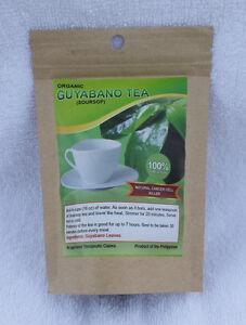ORGANIC GUYABANO TEA / SOURSOP TEA / GRAVIOLA TEA - 100% ... Dried Guyabano Leaves