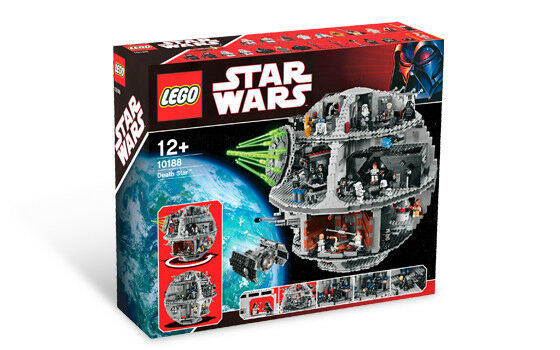 New Retired LEGO Star Wars 10188 UCS Exclusive Death Star Building Play Set