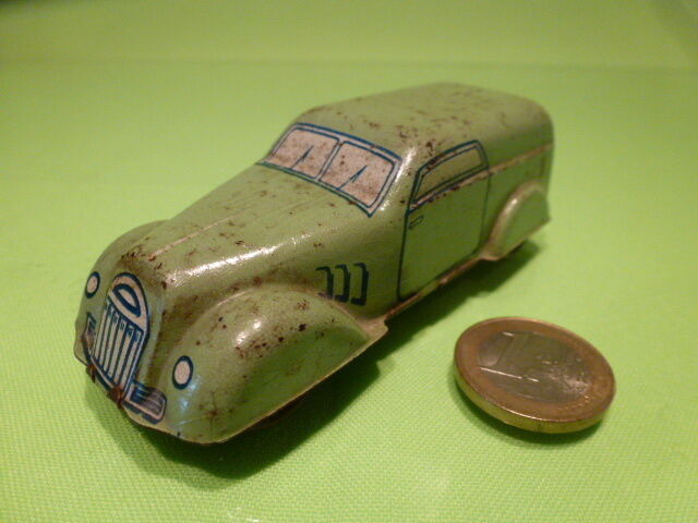 TIN PLATE TOYS MADE IN ITALY - VAN BG-950 - vert - GOOD CONDITION - VERY RARE