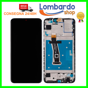 DISPLAY-LCD-CON-FRAME-TOUCH-SCREEN-PER-HUAWEI-P-SMART-2019-POT-LX1-POT-LX2-AL00