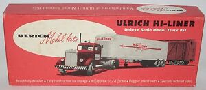 Ulrich--EMPTY BOX--Original Ulrich Hi-Liner Empty Box--