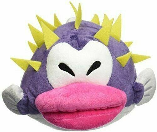 """Porcupuffer Stuffed Plush Doll 7"""" Super Mario Bros Genuine Little Buddy Toy"""