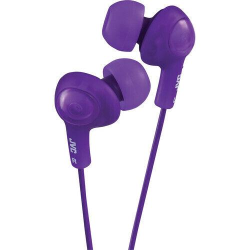 JVC HA-FX5V Violet Gumy Plus Inner Ear Stereo Earbuds