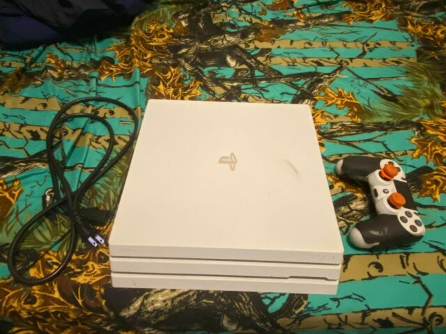 Sony PlayStation 4 Pro 1TB Glacier White Console (Used)