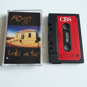 MIDNIGHT-OIL-DIESEL-AND-DUST-CASSETTE-TAPE-1987-RED-PAPER-LABEL-CBS-UK