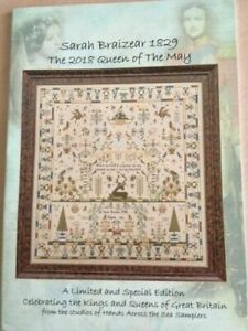 Hands Across the Sea-X-stitch chart-Sarah Braizear 1829 Queen of the May