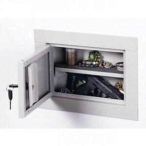 Details about Wall Gun Safe Cabinet Stack-On Hidden Firearm Jewelry Cash  Pistol Secret Steel