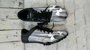 Nuevo 100 Hombres talla Sprint 1273939 Vapor Kick 11 Black Spikes Under Armour rAOq8Br