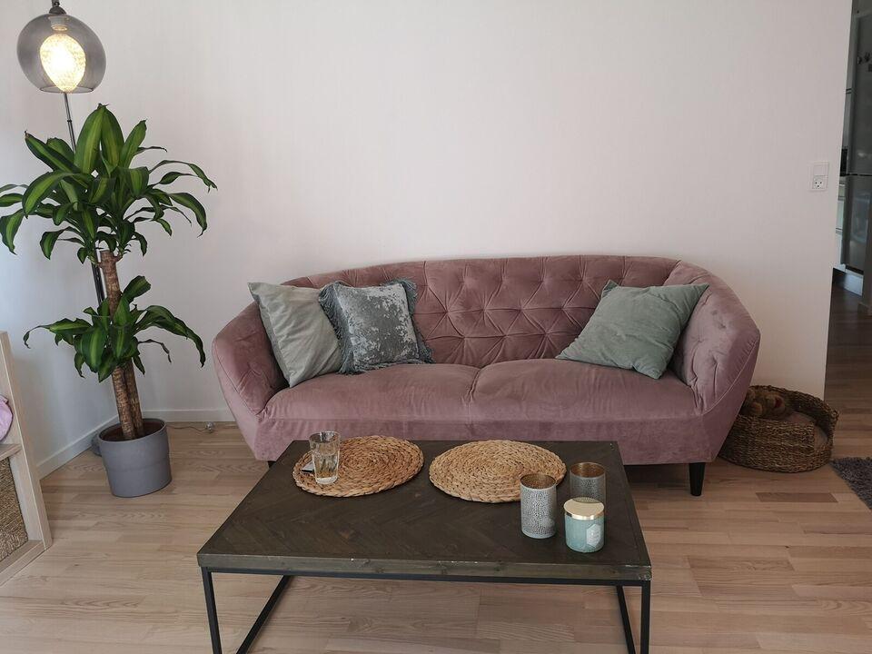 Sofa, fløjl, 2 pers.