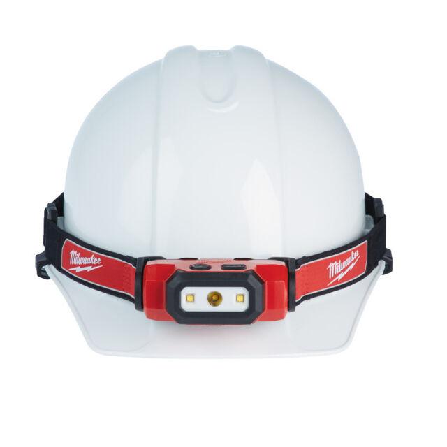 Milwaukee Akku-Stirnlampe Helmlampe HL-SF 450 Lumen  Kopflampe*