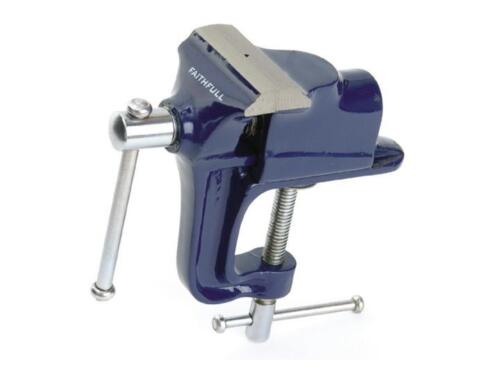 Faithfull Hobby Vice 60mm with Integrated Clamp