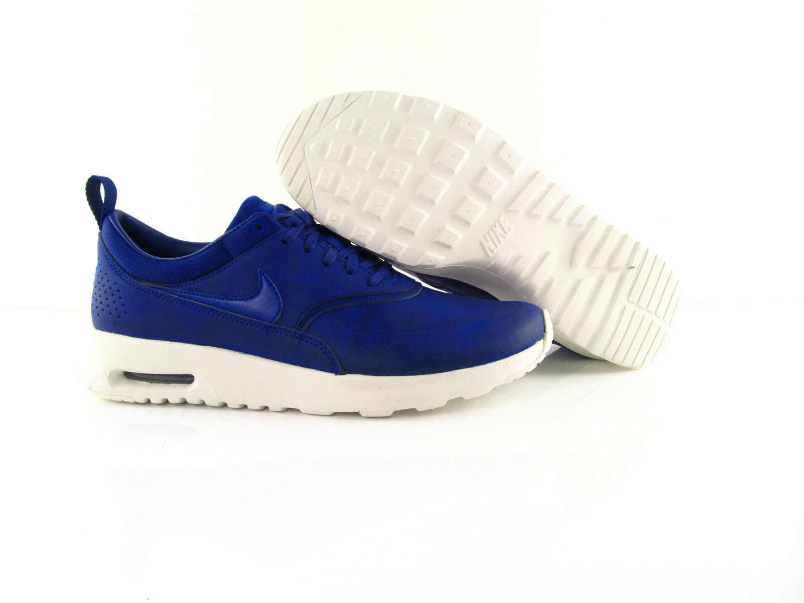 Nike Bir Max Thea Leather Blue White Sneakers New  Eur 40 - 40.5 - 41