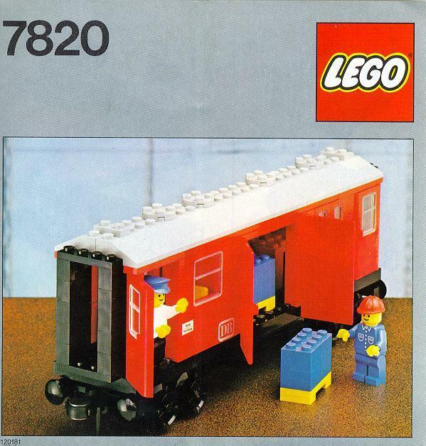 NEW Lego Trains Mail Van 7820 NEW SEALED 1980'