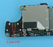 Remplacement connecteur Batterie iphone 4S soudure repair carte mere