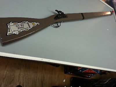 Civil War Toy Cap Rifle Musket With Orange Tip 37 1 2 Quot In