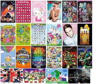 Poster-UFFICIALE-61x91-5cm-vasta-gamma-di-eventi-bambini-e-bambine-STANZE