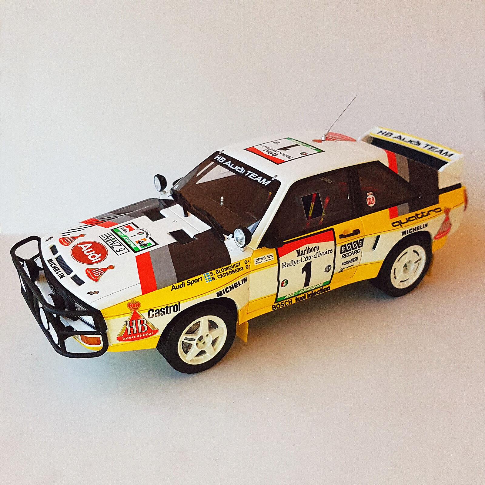 OTTO-MOBILE,i Sport Quattro, Blomqvist-Cederberg, Côte d'Ivoire'84, 1 18