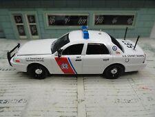 GREEN LIGHT POLICE FORD CROWN VIC U.S COAST GUARD KITBASH  CUSTOM UNIT