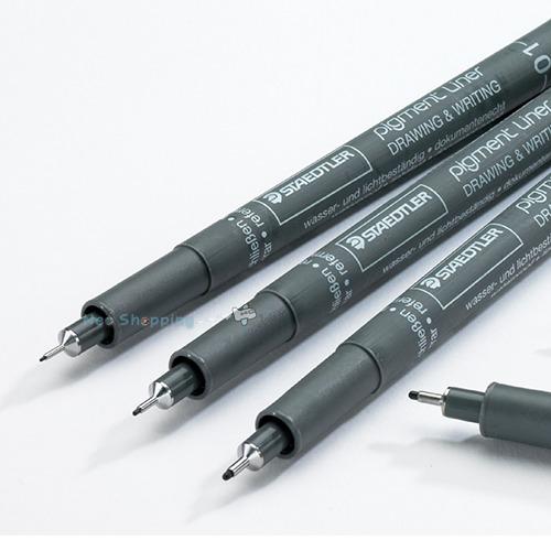 STAEDTLER Pigment liner Fineliner 308 DRAWING PENS FULL RANGE 0.05mm to 0.8mm