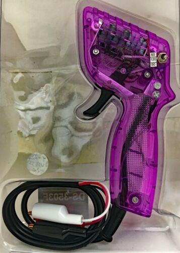 PURPLE HO SLOT CAR CONTROLLER BY DS 120//90//60 OHM WITH BOOTED ALLIGATOR CLIPS