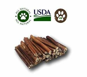 Top Dog Chews Premium Bully Sticks By Great Lakes All Natural Dog Treats 25 Pack