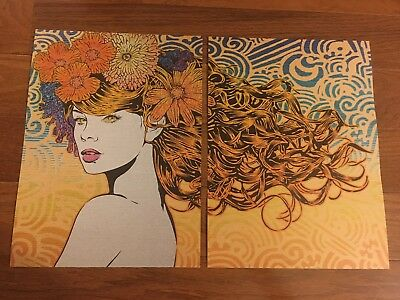 """CHUCK SPERRY """"NAIAD"""" ART PRINT 100% AUTHENTIC REMOVED FROM HELIKON BOOK POSTER!"""
