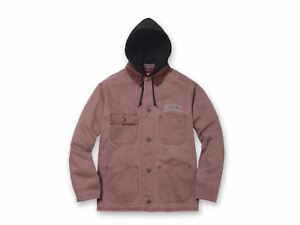 107957c38bed Image is loading 2017-F-W-Supreme-Hooded-Chore-Coat-Dusty-Rose
