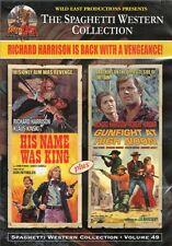 His Name Was King & Gunfight At High Noon DVD Wild East Richard Harrison Kinsky