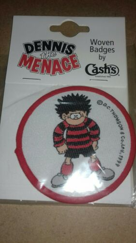 DENNIS DENNIS THE MENACE-WOVEN PATCH BY CASHS OF COVENTRY