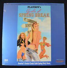 PLAYBOY'S GIRLS OF SPRING BREAK (1991)  LASERDISC