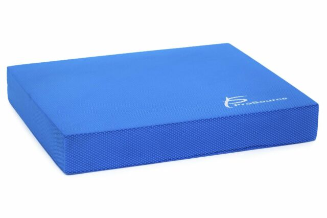 Prosourcefit Exercise Balance Pad 15 X 12 Blue 15x12 Sports for sale online