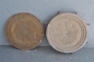 Moule-ancien-d-039-atelier-de-platrier-staffeur-rosace-motifs-geometrique-Art-deco