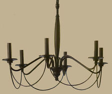 Pottery barn 9484510 camilla chandelier 3 arm aged brass finish ebay new pottery barn graham 6 arm chandelier iron finish mozeypictures Image collections
