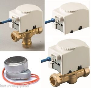 Teams motorised zone valves heads direct honeywell for Honeywell valve motor replacement