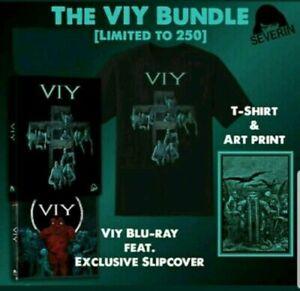 Viy-Blu-Ray-Edicion-Limitada-Slipcover-Paquete-Grande-T-SHIRT-art-print-Severin