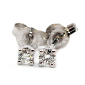 GENUINE-DIAMOND-0-15ct-H-SI2-9K-SOLID-WHITE-GOLD-STUDS-EARRINGS