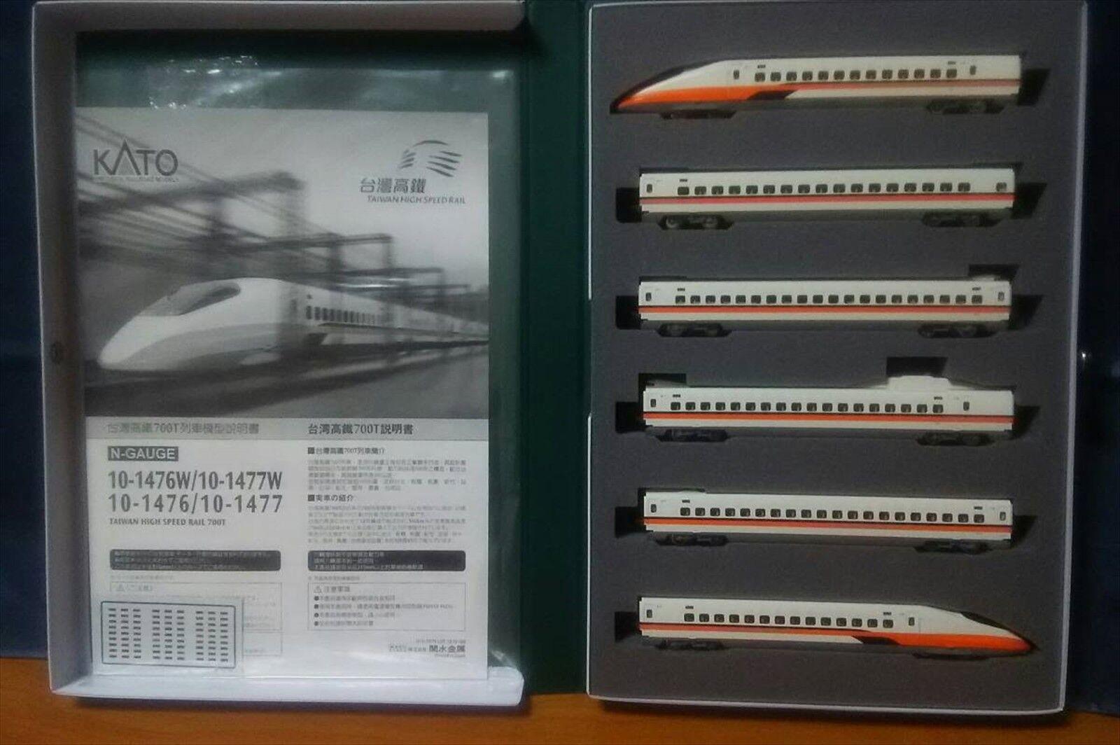 KATO 10-1476 Taiwan High Speed Rail 700T Basic 6 cars set Japan NEW