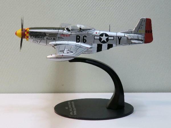 Deagostini WW2 Avión Colección 1 72 VoluSie 62 Norteamérica P51-D Mustang F   S