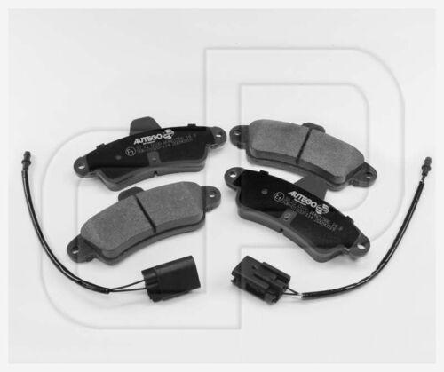 Plaquettes de freins plaquettes de frein Ford MONDEO 1 I arrièreessieu arrière avec warnkabel