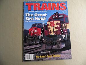 Trains Magazine / March 1995 / Free Domestic Shipping