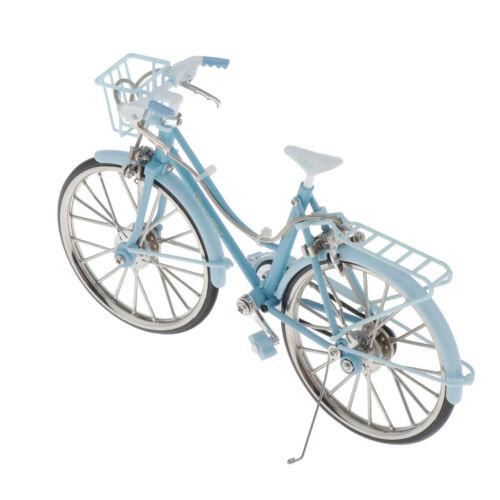 Mini Bicicleta De Liga De Bicicleta Modelo Garotas Bonitas Brinquedo Presentes Para Decoração Artesanato