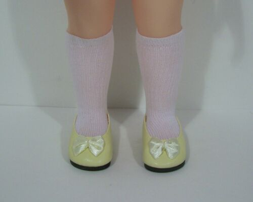 "Debs LT YELLOW Princess Flats Doll Shoes For 16/"" Disney Animators Collection"