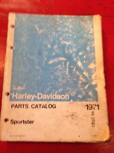 HARLEY-DAVIDSON-SPARE-PARTS-LISTING-BOOK-GREAT-FOR-REBUILD-OR-RESTORATION-H-D