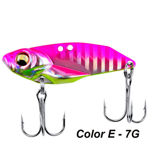 Unpainted fishing lure blank VIB bait 50MM 13.6G lure body S052